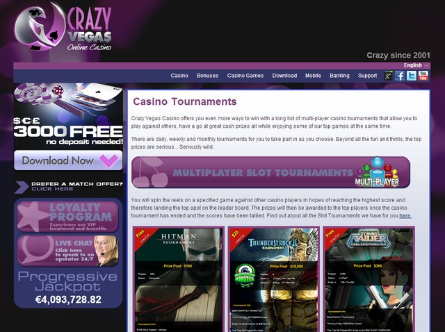 freeroll slot tournaments online casinos